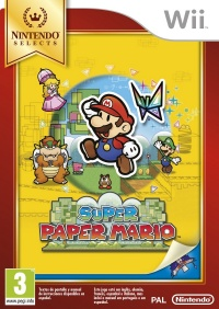 Wii Super Paper Mario Nintendo Select