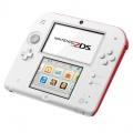 Nintendo 2DS White & Red