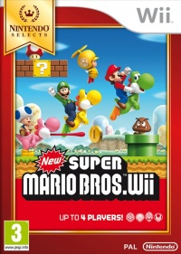 Wii New Super Mario Bros. Wii Nintendo Selects