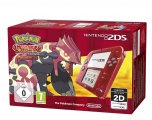 Nintendo 2DS Transparent Red + Pokémon Omega Ruby