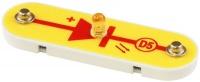 D5 (6SCD5) LED Dioda, svítící žlutě