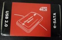 UMAX e-SATA box USB 2.0