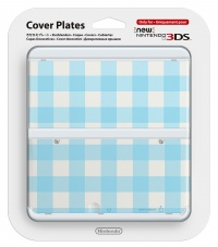 New 3DS Cover Plate 13 (Blue Mix)