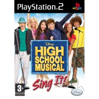 PS2 High School Musical Sing It! plus mikrofony