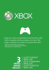 X360 Live 3 months Gold Card Xbox360