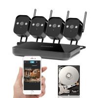 ZMODO 720P Wifi Mini NVR+4xIP CAM+1TB HDD