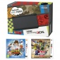 New Nintendo 3DS Black+YO-KAI WATCH+Hyrule Warrior