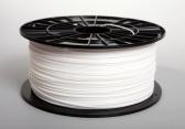 Tisková struna filament ABS, 1,75mm, 1kg, bílá