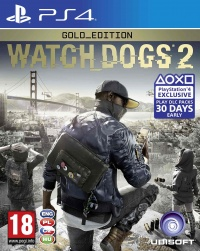PS4 Watch_Dogs 2 Gold Edition