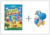 WiiU Yoshi's Woolly World + Yarn Yoshi L-Blue