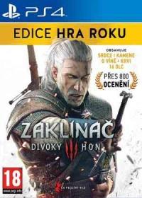 PS4 Zaklínač 3: Divoký Hon CZ (Edice hra roku)