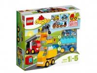LEGO DUPLO 10816 Moje první autíčka a náklaďáky