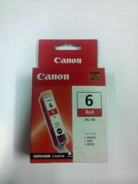 Ink. náplň BCI-6R, Red pro BJ i990,i9950