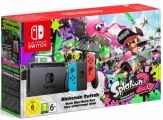 Nintendo Switch console neon + Splatoon 2 (downl)