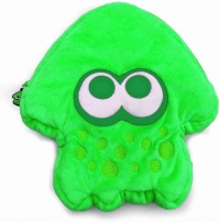 Splatoon 2 Plush Pouch for Nintendo Switch (Green)