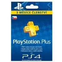 PlayStation Plus Card 90 Days Hang CZ