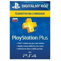 PlayStation Plus Card 90 Days Hang SK