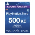 PlayStation Live Cards 500Kč Hang CZ