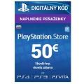 PlayStation Live Cards 50 EUR Hang SK