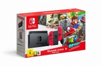 Nintendo Switch console Red + Super Mario Odyssey