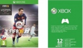 XONE Live Gold 12M + FIFA 16 Bundle