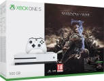XONE S 500GB White + Middle-Earth: Shadow of War