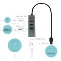 i-tec USB 3.0 Metal HUB 4-Port