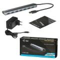 i-tec USB 3.0 Metal Charging HUB 778 7-Port