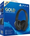 PS4 Gold Wireless Headset Black