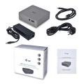 i-tec USB-C Metal 4K Docking Station + PD