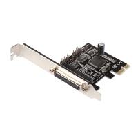 i-tec PCI-E 2x Serial 1x Parallel + low profile