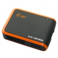 i-tec USB 2.0 All-in-One Card Reader BLACK/ORANGE