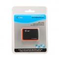 i-tec USB 2.0 All-in-One Card Reader BLACK/ORANGE