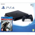 PS4 Konzole 500GB Slim + Watch_Dogs HITS