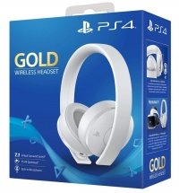 PS4 Gold Wireless Headset White