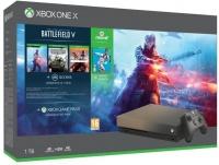 XONE X 1TB Gold Rush SE + Battlefield V + FIFA 19