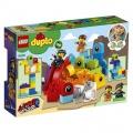 LEGO DUPLO 10895 Emmet, Lucy a návštěvníci z DUPLO planety