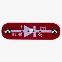 D11 (6SCD11) Blikající červená LED