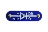 D9 (6SCD9) Modrá LED
