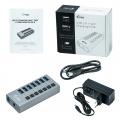 i-tec USB 3.0 Charging HUB 7-Port + Adapter 36W