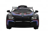 Elektrické auto BMW M6 GT3 černé