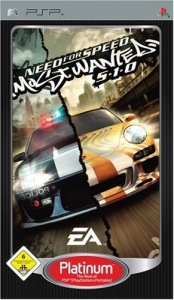 PSP Need For Speed: Most Wanted 5-1-0 Platinum