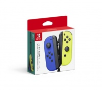 Joy-Con Pair Blue/Neon Yellow