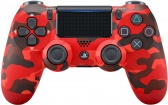 PS4 DualShock 4 Wireless Cont. V2 Red Camouflage