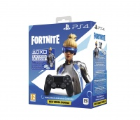 PS4 DualShock 4 Wireless Cont. V2 Black + Fortnite