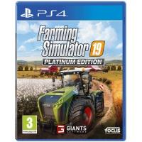 PS4 Farming Simulator 19 Platinum Edition