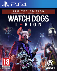 PS4 Watch_Dogs Legion Limited Edition