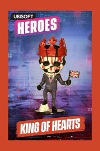 UBI Heroes - WD Legion King of H - Chibi Figurine