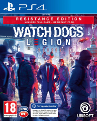 PS4 Watch_Dogs Legion Resistance Edition
