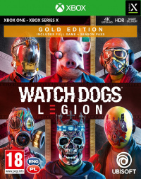 XONE Watch_Dogs Legion Gold Edition